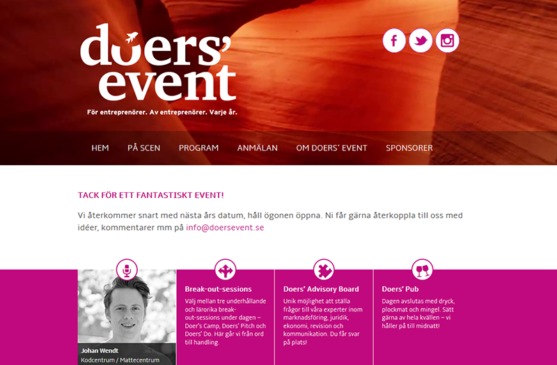 Doers' Event 2015